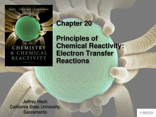Chapter 20 Principles of Chemical Reactivity:  Electron Transfer Reactions