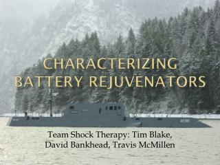 Characterizing Battery Rejuvenators