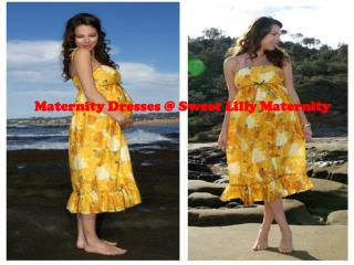 Maternity Dresses at Sweet Lilly Maternity