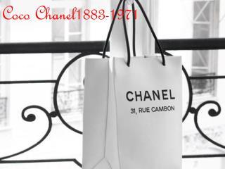Coco Chanel1883-1971
