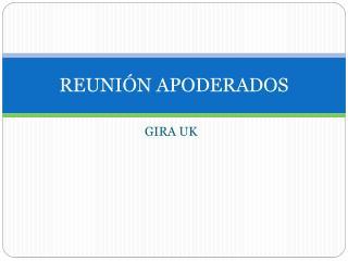 REUNIÓN APODERADOS