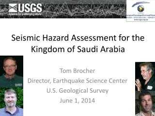 Seismic Hazard Assessment for the Kingdom of Saudi Arabia