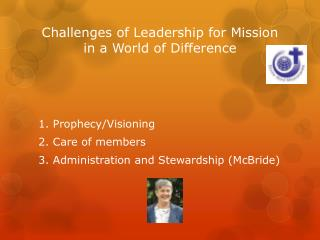 Challenges of Leadership for Mission in a World of Difference