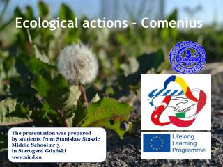 Ecological actions  - Comenius