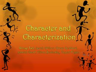 Character and  Characterization