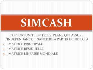 SIMCASH