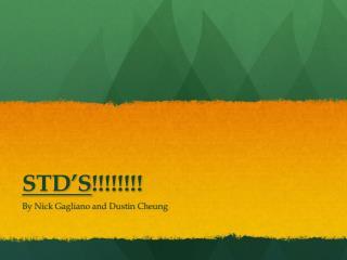 STD'S !!!!!!!!