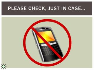 Please check, just in case�