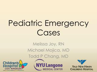 Pediatric Emergency Cases