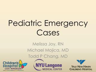 Pediatric Emergency Cases