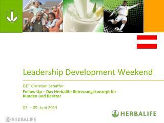 Leadership Development Weekend