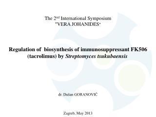 """The 2 nd  International Symposium """" VERA JOHANIDES """""""