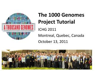The 1000 Genomes Project Tutorial