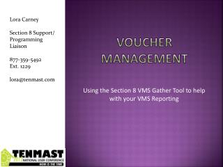 Voucher Management