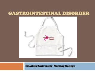 Gastrointestinal  disorder
