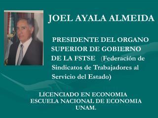 JOEL AYALA ALMEIDA
