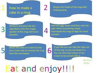 how to make a cake in a mug