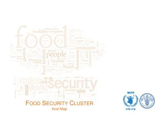 Food Security Cluster Kcal Map