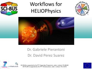Workflows for  HELIOPhysics