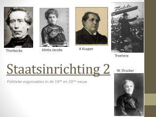 Staatsinrichting 2