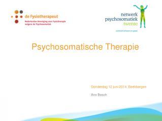 Psychosomatische Therapie