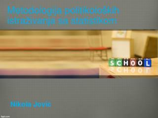 Metodologij a  politikoloških istraživanja  sa statistikom