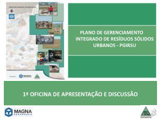 Plano de gerenciamento integrado de resíduos sólidos urbanos - pgIrsu
