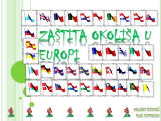 ZAŠTITA OKOLIŠA U EUROPI