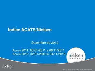 Índice ACATS/Nielsen