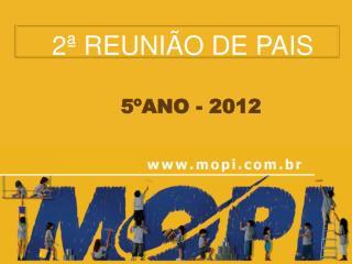 2� REUNI�O  DE PAIS