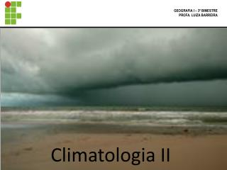 Climatologia II