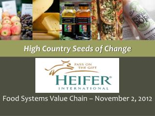High Country Seeds of Change
