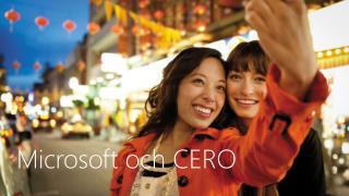 Microsoft och CERO