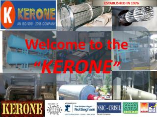 Welcome to the   � KERONE �