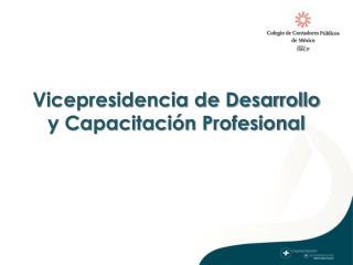 Vicepresidencia de Desarrollo y Capacitación Profesional