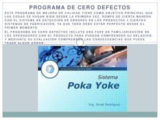 Programa de cero defectos