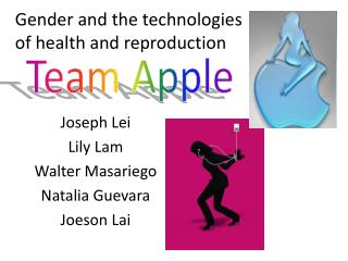 Joseph Lei Lily Lam Walter Masariego Natalia Guevara Joeson Lai