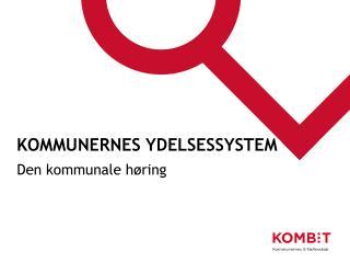 Kommunernes Ydelsessystem