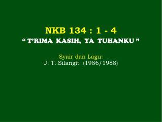 NKB  134  : 1 - 4