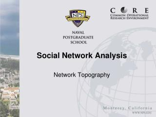 Network Topography