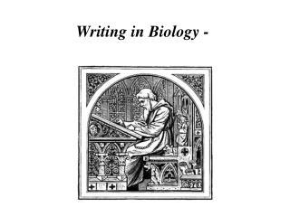 Writing in Biology -