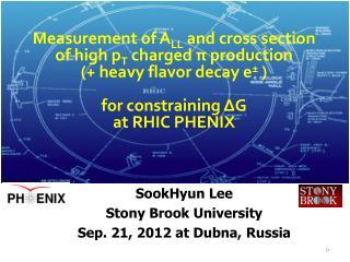SookHyun  Lee Stony Brook University Sep.  21, 2012 at Dubna, Russia