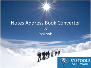 Notes Address Book to Outlook Free