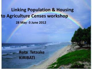 Linking Population & Housing to Agriculture Censes