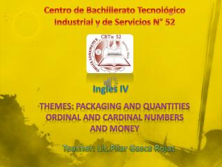 Centro de Bachillerato Tecnológico Industrial y de Servicios N° 52