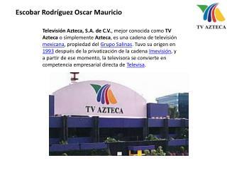 Escobar Rodríguez Oscar Mauricio