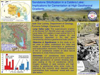 Jade Star Lackey, Department of Geology, Pomona College, Claremont, CA.