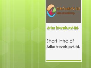 Arike  travels  pvt.ltd.