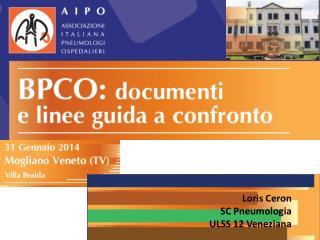 Loris  Ceron SC Pneumologia  ULSS 12 Veneziana