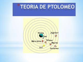 TEORIA DE PTOLOMEO